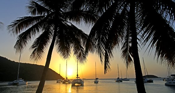 Sunsail yachts in St. Lucia